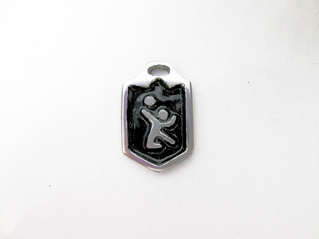 volleyball player pendant