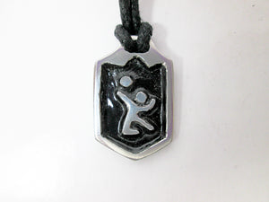 volleyball sports pendant necklace