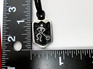 ringette player pendant with measurement