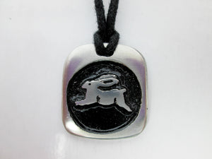 rabbit Chinese zodiac pendant necklace