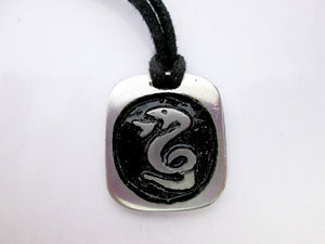 snake zodiac pendant necklace