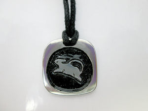 rat zodiac pendant necklace