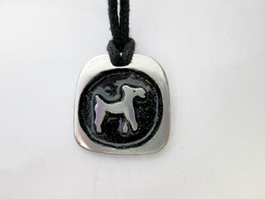 Dog Chinese zodiac pendant necklace