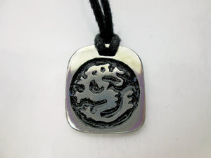 dragon Chinese zodiac pendant necklace