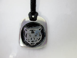 tiger Chinese zodiac pendant necklace