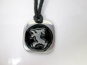 goat or sheep zodiac pendant necklace