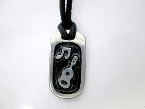Music lover pendant necklace