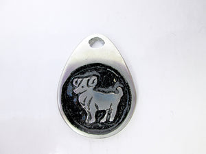 Aries horoscope pendant
