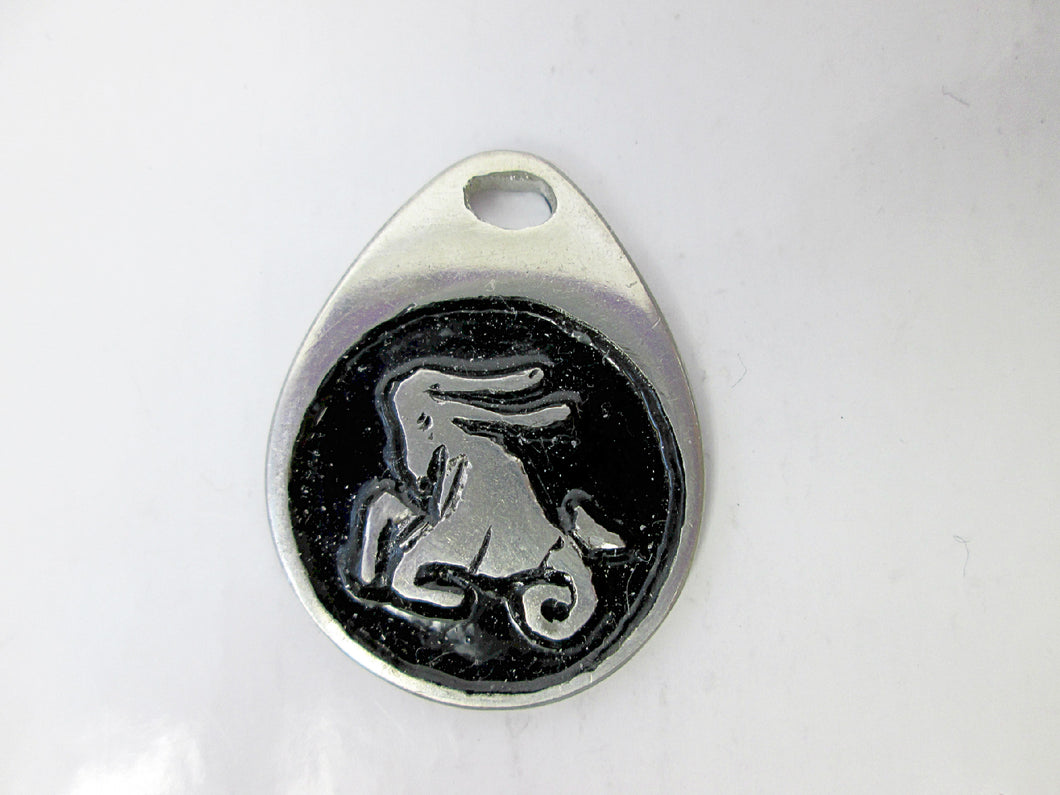 Capricorn horoscope pendant