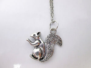 small squirrel necklace