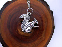 Load image into Gallery viewer, squirrel necklace