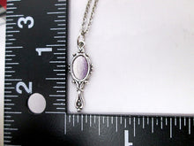 Load image into Gallery viewer, mirror necklace with measurement