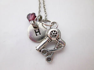 hairdresser necklace