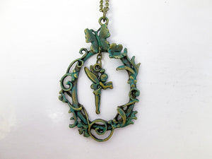 fairytale Tinkerbell necklace