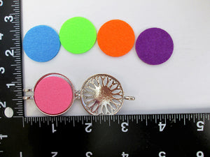 interchangeable color locket