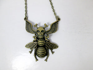 bee monster necklace