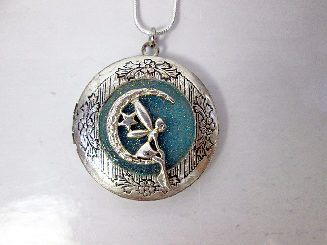 moon fairy locket