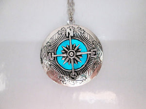 glow compass necklace