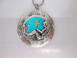 glowing mermaid locket