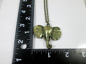 large elephant necklace with measurement