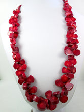 Load image into Gallery viewer, red coral choker necklace