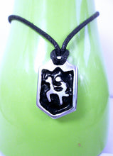 Load image into Gallery viewer, horse rider necklace