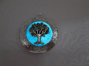 glowing tree locket