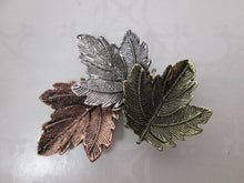 Load image into Gallery viewer, maple leaf brooch