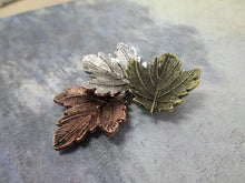Load image into Gallery viewer, maple leaf brooch pin