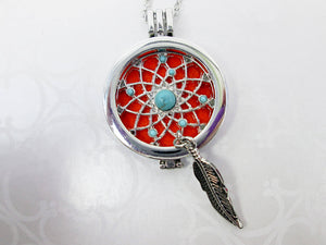 dream catcher diffuser locket