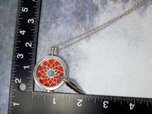 Load image into Gallery viewer, dream catcher diffuser necklace
