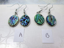Load image into Gallery viewer, abalone earrings