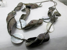 Load image into Gallery viewer, multi strand birch barks necklace