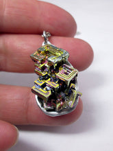 Load image into Gallery viewer, metal crystal bismuth pendant