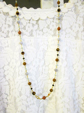 Load image into Gallery viewer, multi gemstone beaded necklace