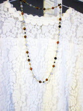 Load image into Gallery viewer, semi precious stone necklace