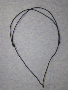 sample of cotton cord necklace