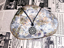 Load image into Gallery viewer, Celtic triskele necklace