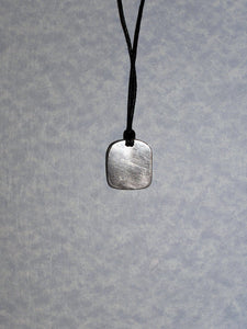 pendant on cotton cord
