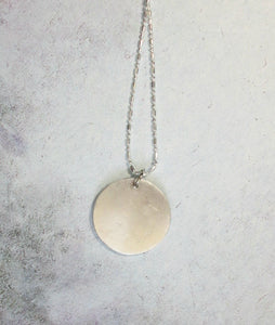 handcasted pendant