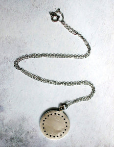 hand made moon necklace