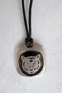 tiger cord necklace