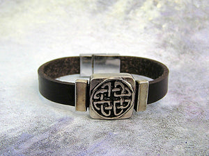 celtic love knot bracelet
