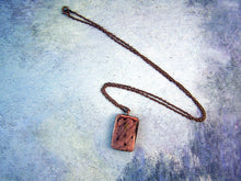 Load image into Gallery viewer, handmade copper pendant