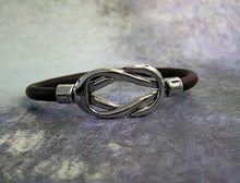 Load image into Gallery viewer, rope leather bracelet