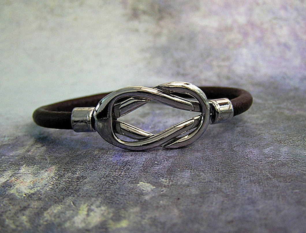 rope leather bracelet