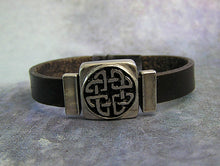 Load image into Gallery viewer, love knot leather bracelet