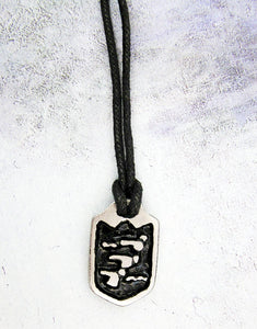 swimmer pendant necklace