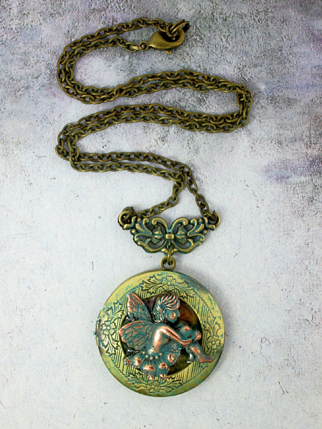 cherub locket