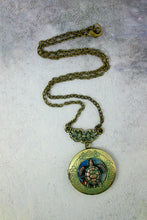 Load image into Gallery viewer, turtle keepsake necklace